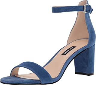 Nine West Pruce 女士合成高跟凉鞋