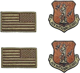 美国*航空国家警卫队 OCP Spice 棕色补丁和国旗套装