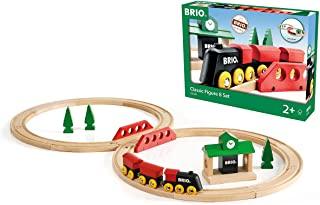 瑞典 BRIO 火车系列 经典八字轨道套装 BROC33028