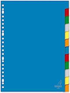 Kangaro 登记簿 A4 空白 PP 120 微米 23 个 6 个分类标签 25 个装