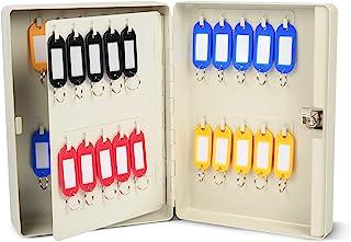 CARL 40 钥匙柜钢制*钥匙收纳箱带钥匙锁,壁挂式