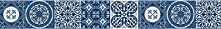 自粘花边 AZULEJOS 蓝色 15 x 300 厘米
