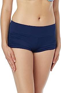 Beach HOUSE 女人女式 blake 可调节侧面系带游泳短裤