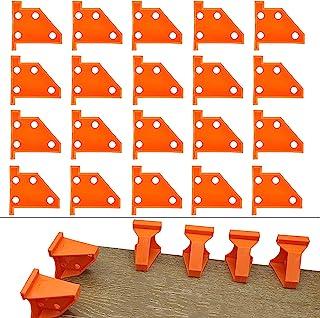 地板垫片层压木地板工具,兼容乙烯基板,硬木和浮动地板安装等,硬木地板 w/1/4 和 1/2 间隙,特殊三角形保持原位