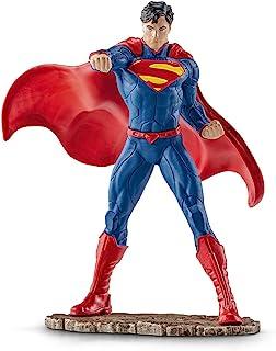 德国 Schleich 思乐 DC 超极漫画英雄模型 人物模型 仿真收藏 儿童玩具 仿真模型 战斗的超人 S22504