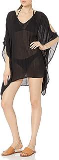 Kenneth Cole New York 女式露肩束腰泳衣罩衫