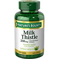 Nature's Bounty 自然之宝 乳蓟丸胶囊,有益于肝脏,250毫克,200粒