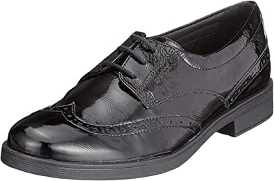 Geox 女孩 Jr Agata D 布洛克鞋