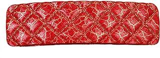Caravan Barrette-5753,烘焙绗缝外观,红色