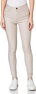 JDY 女式 Jdynewthunder 涂层高紧身 PNT Noos 长裤