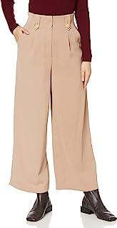 Lily Brown 高腰褶裤 LWFP205048 女士