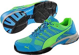 PUMA 女士*鞋 CELERITY KNIT,S1P HRO SRC,蓝色/绿色 Bleu Clair/Vert Clair 36 642900.36