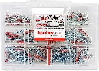 Fischer 544546 通用销钉套件,带螺丝,透明色