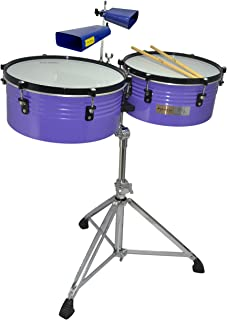"Tycoon Percussion TTI-RVSS 14"" & 15"" Robert Vilera 签名 Timbales"