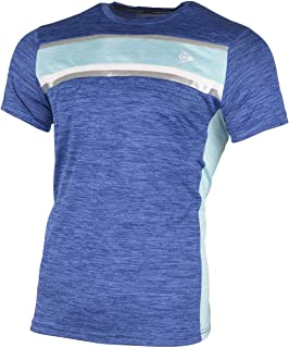 Dunlop 男式 72223-XXXL Performance Line 圆领 T 恤,钴蓝/浅*,3XL 码