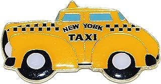 纽约冰箱出租车磁贴 | 黄色出租车磁铁 | 完美纪念礼品收藏 适合喜爱出租车的男士和女士