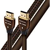 AudioQuest 巧克力色 2m(6.56 英尺)编织高速 HDMI 以太网电缆FBA_65-075-03 2米单色…