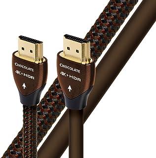 audioquest 巧克力色1.5m (6英尺) 编织高速 HDMI 以太网线缆