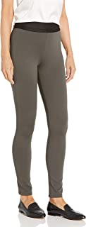 BCBGMAXAZRIA 女式打底裤,沥青色,中号