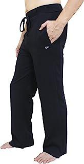 YogaAddict 男士瑜伽长裤,普拉提,健身,锻炼,休闲,休闲,*,武术裤(销售价格)