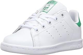 adidas 阿迪达斯 Originals 中性儿童 Stan Smith 运动鞋 白色/白色/* 13 Little Kid