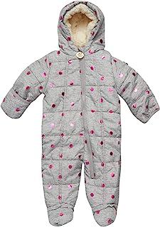 DKNY 女婴舒适防雪服,带毛皮饰边(婴儿/新生儿)
