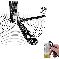Magcon 绘图工具,带比例的多功能绘图工具,多功能的 Magcon 工具迷你指南针量角器套装,适合艺术家、建筑师
