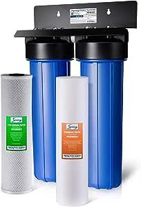 iSpring WGB22B 系列 2 级全屋滤水系统 蓝色 WGB22B