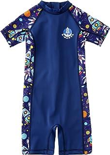 M2C X-Manta 男孩女孩泳衣 UPF 50+ UV *连体泳衣