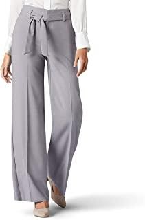 LEE 女式 Flex Motion 标准宽腿自带裤