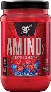 BSN 氨基酸X肌肉支持粉末补充剂 含维生素D,维生素A和氨基酸。 BSN BCAA粉末 蓝树莓 30份 435g