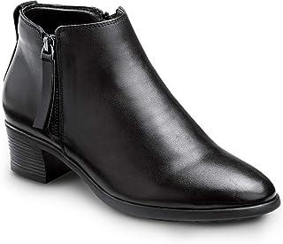 SR Max Reno,女式,黑色,半靴风格软鞋头防滑工作鞋