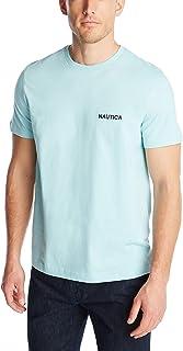 Nautica 男士纯棉圆领短袖T恤