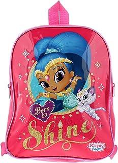 Shimmer & Shine 双面背包包和配件合成材料儿童包粉色/蓝色/多色
