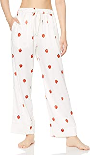 Gelato pique PARIYA 草莓花纹长裤 PWFP204221 女士