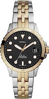 Fossil 女式 FB-01 不锈钢休闲石英手表