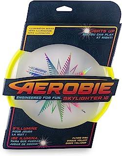 Aerobie Skylighter 10 终极飞盘,带超亮持久 LED