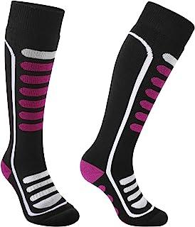 Andake 羊毛滑雪袜 男式女式青年温暖冬季雪地长袜 用于滑雪