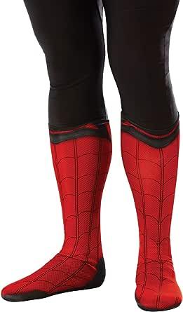 Rubie's 男式 Marvel 漫威:蜘蛛侠 远离家庭 面料靴子 - 上衣 成人服装