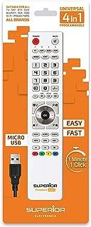 Freedom USB 4合1 White 可编程通用遥控器