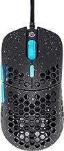G-Wolves Hati Stardust(限量版)超轻蜂窝设计有线游戏鼠标高达 12000 cpi - 3389 性能传感器 - (58 克)(黑色)