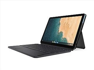 Lenovo 联想 Chromebook Duet 2合1笔记本电脑,10.1英寸(约25.65厘米)WUXGA(1920 x 1200)显示屏,联发科技Helio P60T,4GB LPDDR4X RAM,64GB eMCP SSD,集成AR...