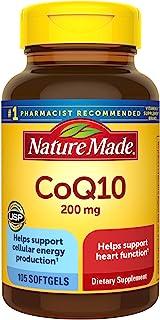 Nature Made CoQ10 200毫克软胶囊,105粒(包装可能有所不同)