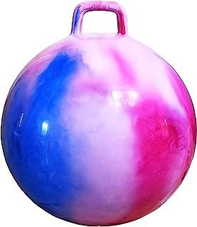 带气泵的 AppleRound 太空弹跳球:直径 20 英寸/50 厘米,适合 7-9 岁儿童,蹦跳球,袋鼠弹跳跳跳跳跳跳摇篮,坐