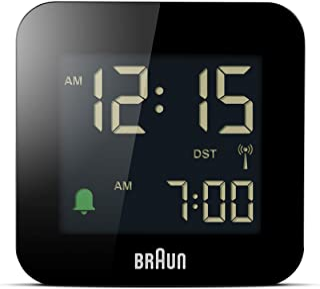 Braun 博朗 BC08 数字旅行手表 黑色