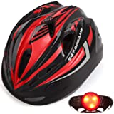 儿童自行车头盔 - 从幼儿到青少年可调节尺寸,适合 3 至 7 岁儿童 - 耐用的儿童自行车头盔带趣味赛车设计男童和女童…