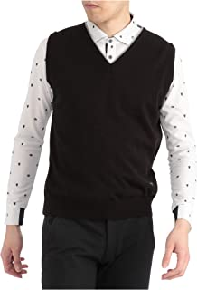 Mizuno 美津浓 高尔夫服装 毛衣 V领 针织材质 52JC9A20 男士
