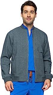 Uninard 7001 男式 3 口袋全拉链保暖夹克