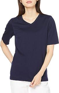 Cecile T恤 V领 四分袖 简约 显瘦 女式