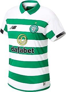 New Balance 男式 Celtic Fc 2019/20 Home Ss 运动衫 S/s 上衣